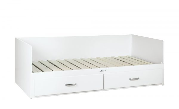 Tagesbett  Miami Tagesbett  Miami-Tagesbett-weiß Breite: 94 cm Höhe: 70 cm weiß