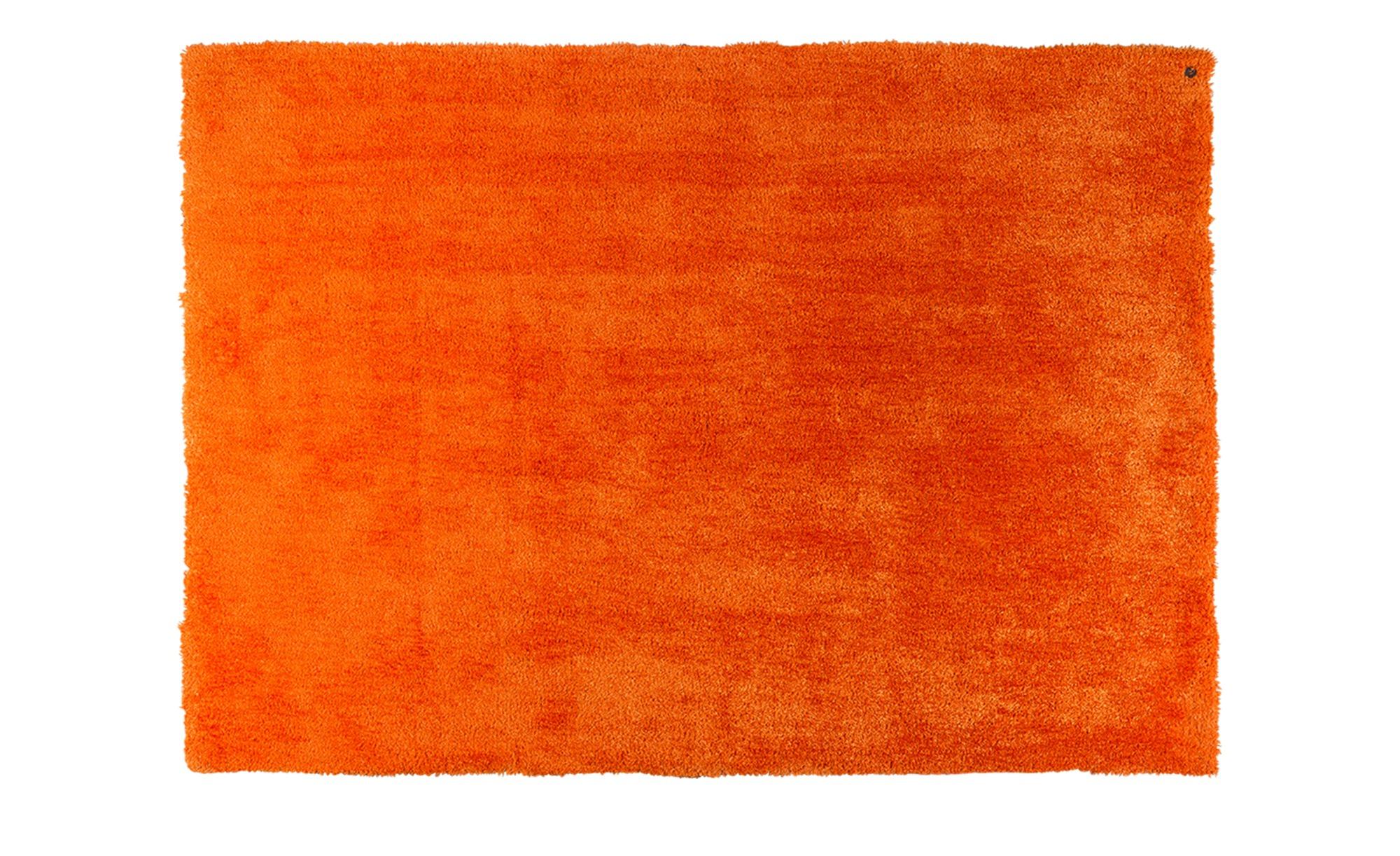 tom tailor handtuft teppich soft uni breite 160 cm h he orange online kaufen bei woonio. Black Bedroom Furniture Sets. Home Design Ideas