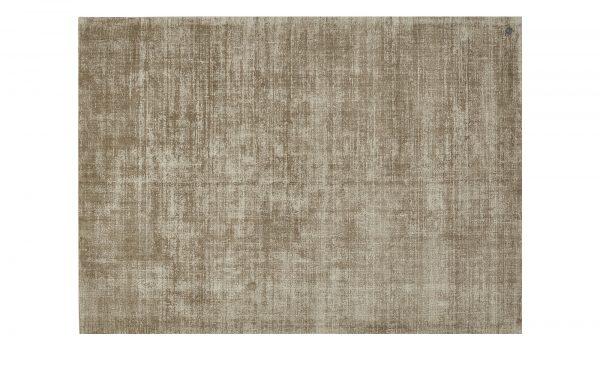 Tom Tailor Teppich handgewebt  Shine Tom Tailor Teppich handgewebt  Shine-Teppich handgewebt-Tom Tailor-braun-reine Viskose Breite: 140 cm Höhe: braun