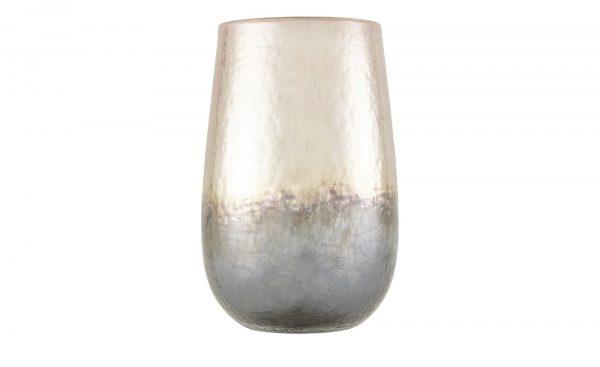 Vase Vase-Vase-rosa/pink-Glas Breite: Höhe: 33 cm rosa/pink