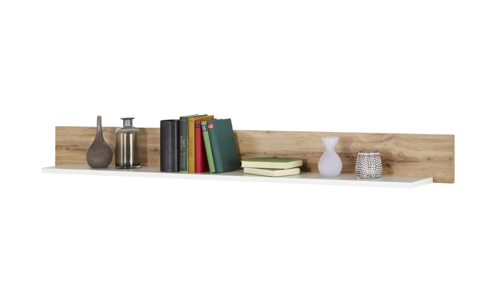 Wandboard cortina breite 180 cm h he 18 cm wei online kaufen bei woonio - Wandboard walnuss ...