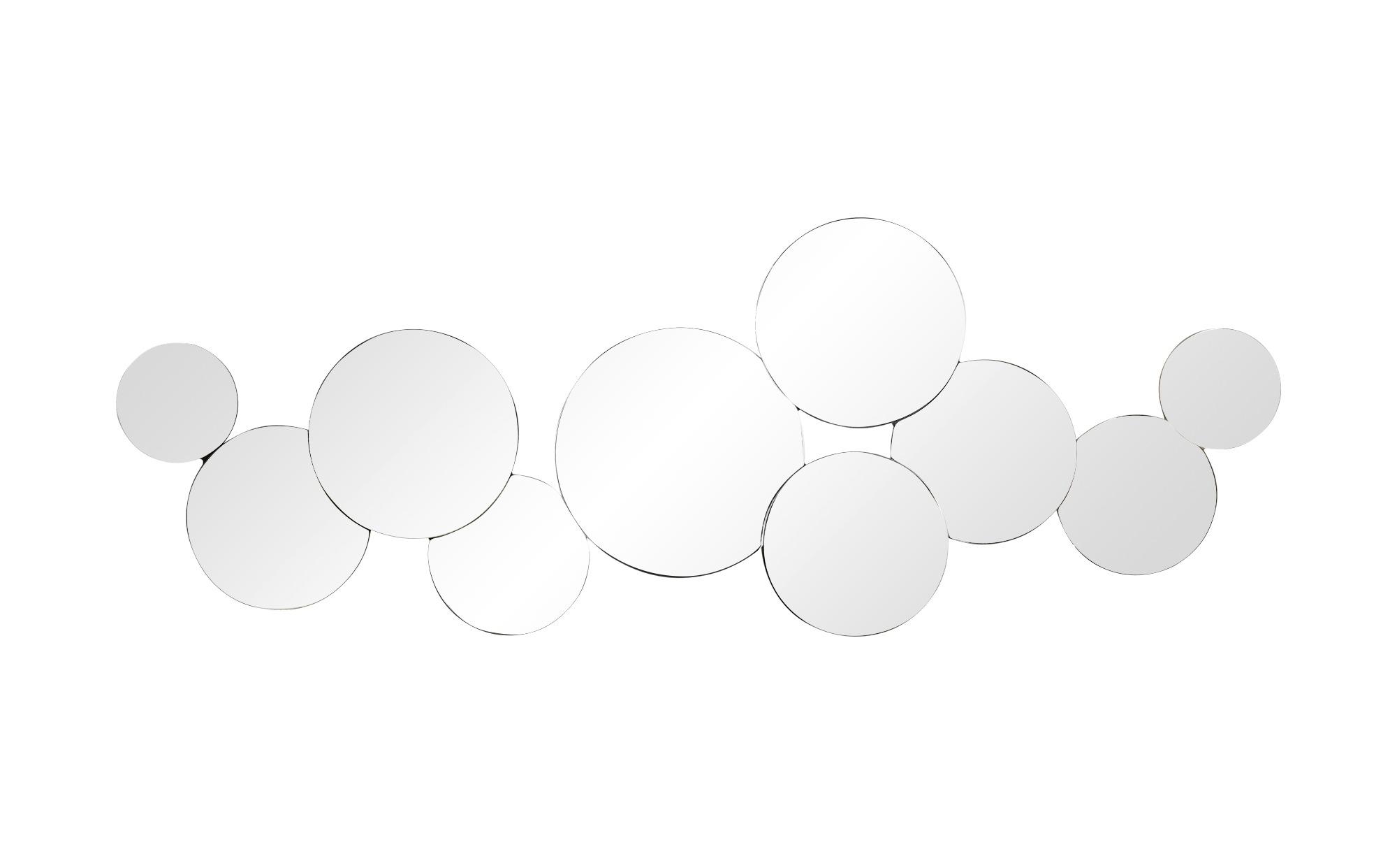 Wandspiegel capriolo breite 52 cm h he 144 cm silber for Spiegel 52 2017
