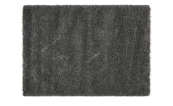 Webteppich  Shaggy Royal Webteppich  Shaggy Royal-Webteppich-grau-100 % Polypropylen Breite: 160 cm Höhe: grau