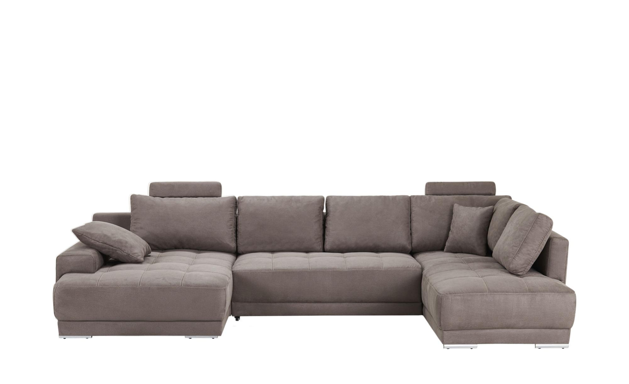 wohnlandschaft aqenique breite 340 cm h he grau online kaufen bei woonio. Black Bedroom Furniture Sets. Home Design Ideas