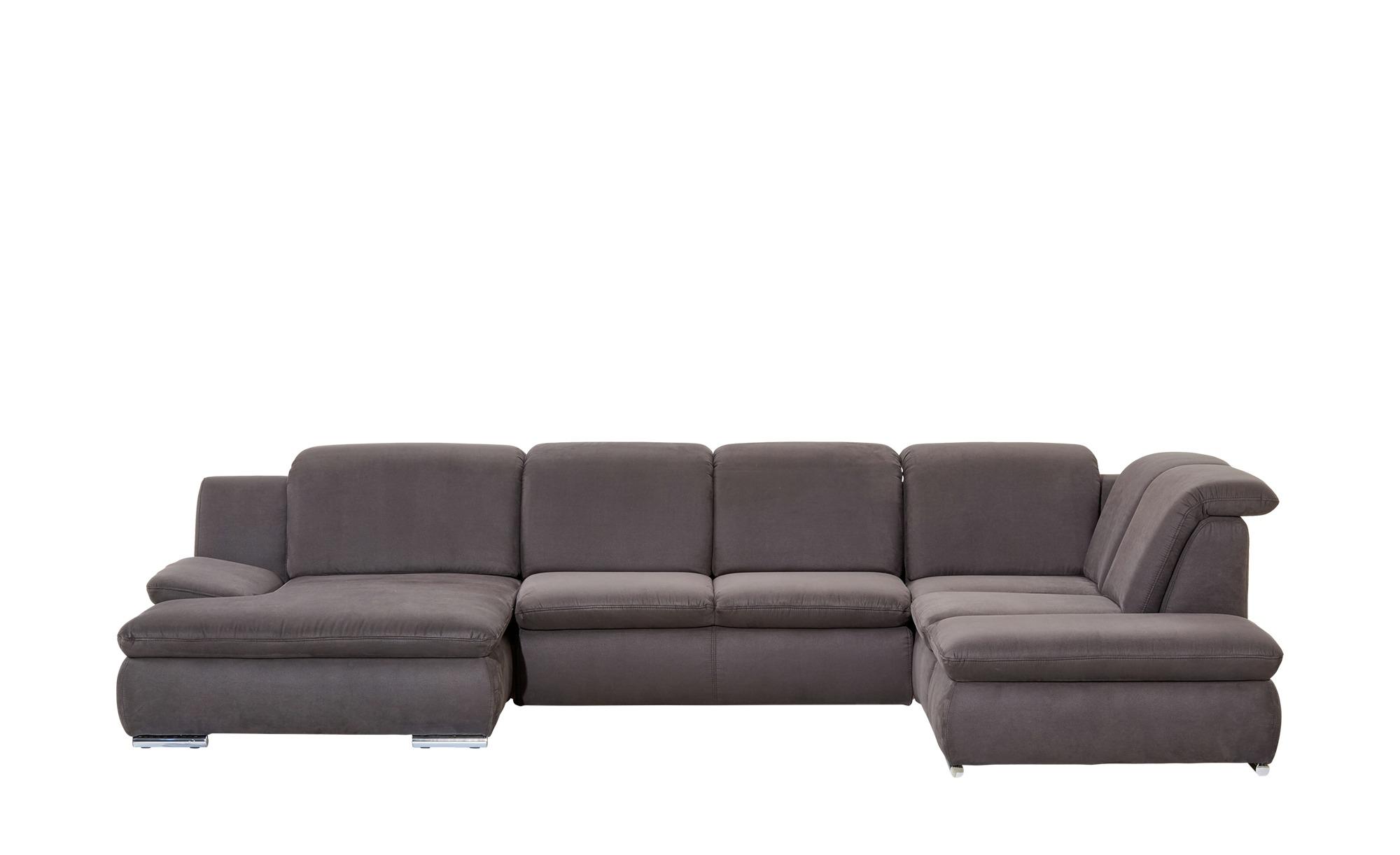 wohnlandschaft barbados breite h he 84 cm grau online. Black Bedroom Furniture Sets. Home Design Ideas