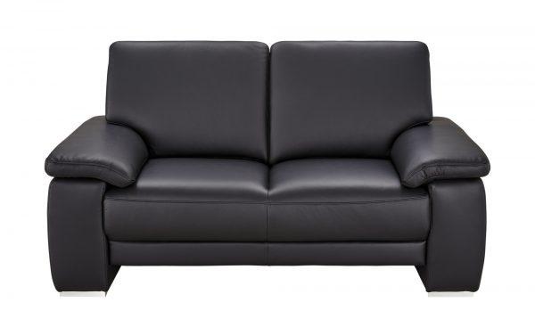 Wohnwert Sofa 2-Sitzer  Nina Wohnwert Sofa 2-Sitzer  Nina-Sofa 2-Sitzer-Wohnwert-schwarz Breite: 170 cm Höhe: 92 cm schwarz