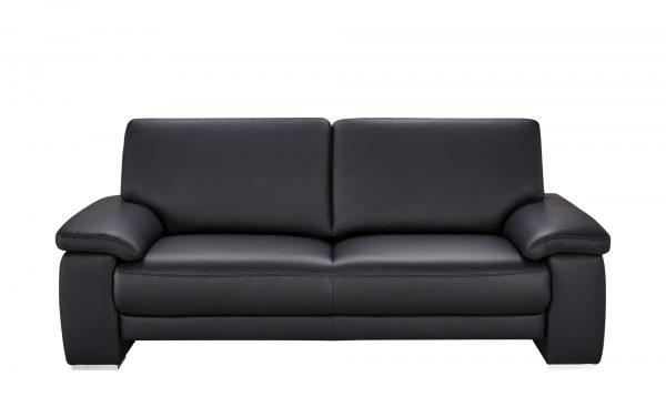 Wohnwert Sofa 3-Sitzer  Nina Wohnwert Sofa 3-Sitzer  Nina-Sofa 3-Sitzer-Wohnwert-schwarz Breite: 210 cm Höhe: 92 cm schwarz