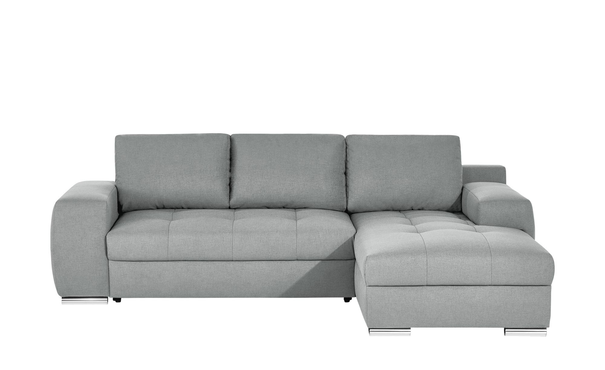 bobb ecksofa mit schlaffunktion fraja breite 270 cm h he 90 cm silber online kaufen bei woonio. Black Bedroom Furniture Sets. Home Design Ideas