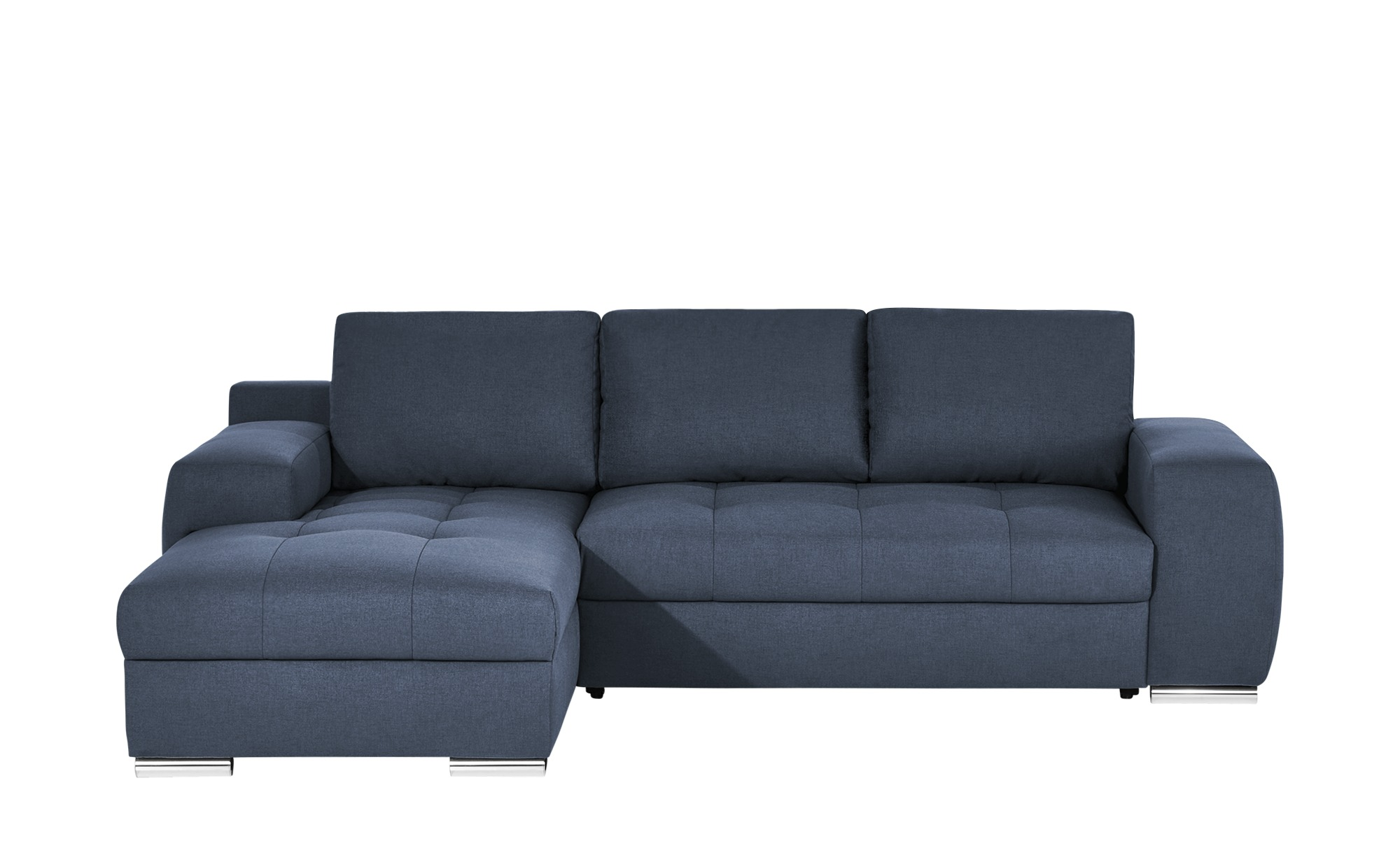 bobb ecksofa mit schlaffunktion fraja breite 90 cm h he 270 cm blau online kaufen bei woonio. Black Bedroom Furniture Sets. Home Design Ideas