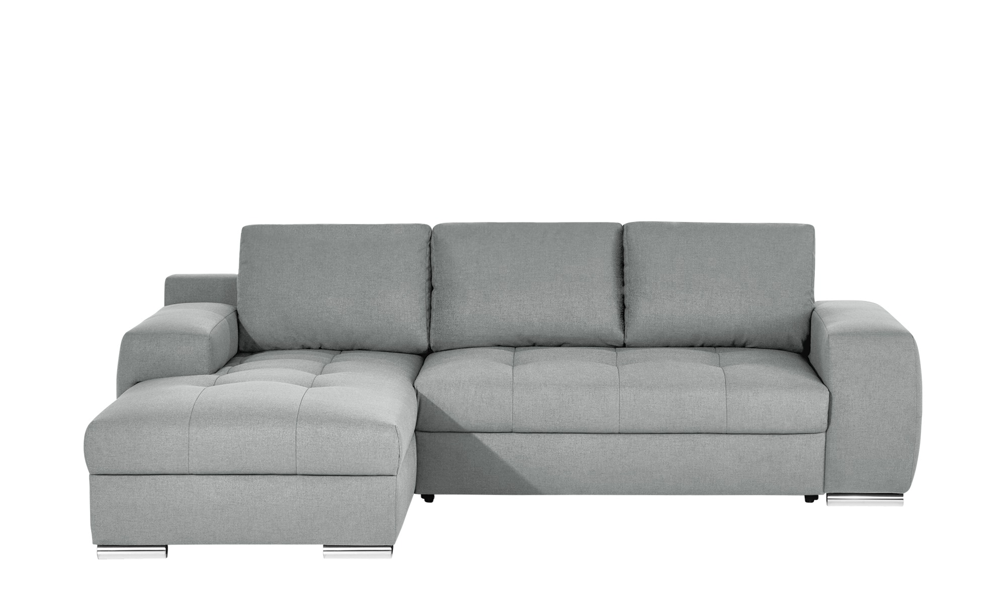 bobb ecksofa mit schlaffunktion fraja breite 90 cm h he 270 cm silber online kaufen bei woonio. Black Bedroom Furniture Sets. Home Design Ideas