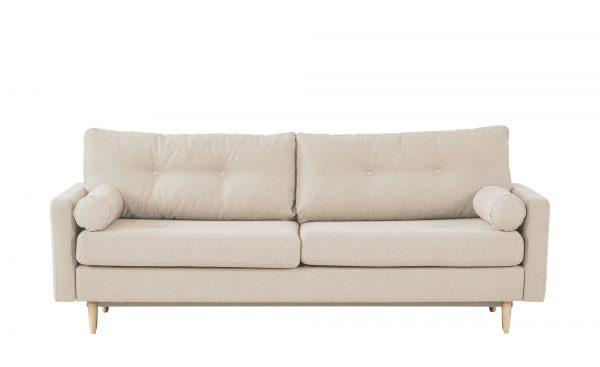 finya Design-Schlafsofa 3-sitzig  Pure finya Design-Schlafsofa 3-sitzig  Pure-Design-Schlafsofa 3-sitzig-finya-beige Breite: 218 cm Höhe: 85 cm beige