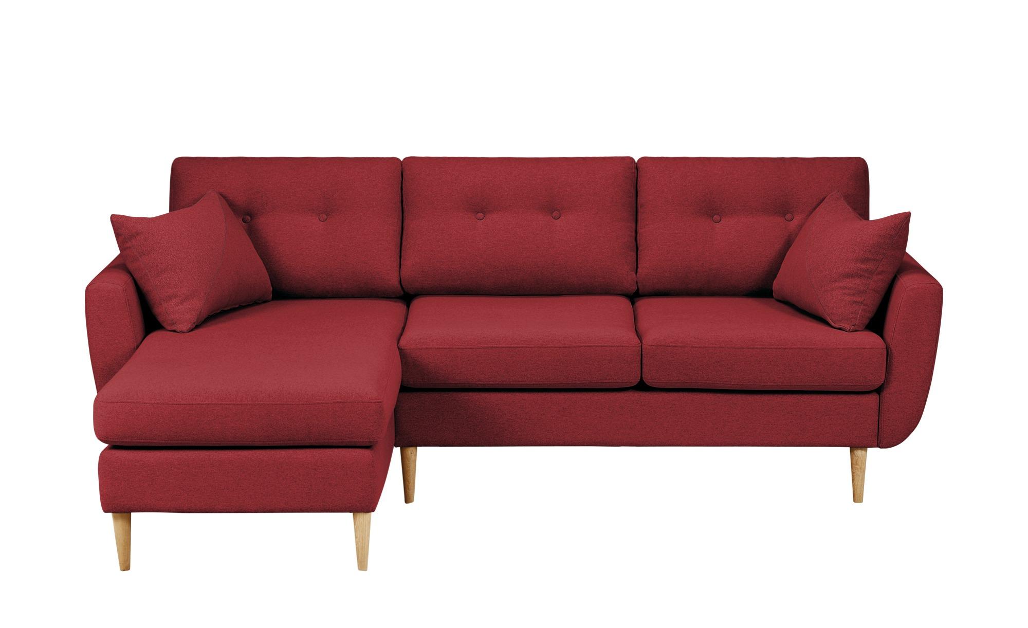 finya Ecksofa Harris Breite: Höhe: 85 cm rot online kaufen