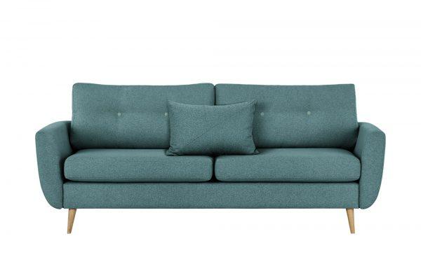finya Sofa  Harris finya Sofa  Harris-Sofa-finya-blau Breite: 207 cm Höhe: 85 cm blau