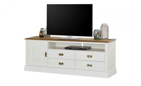 maison bleue TV-Lowboard  Lina maison bleue TV-Lowboard  Lina-TV-Lowboard-maison bleue-weiß Breite: 178 cm Höhe: 67 cm weiß