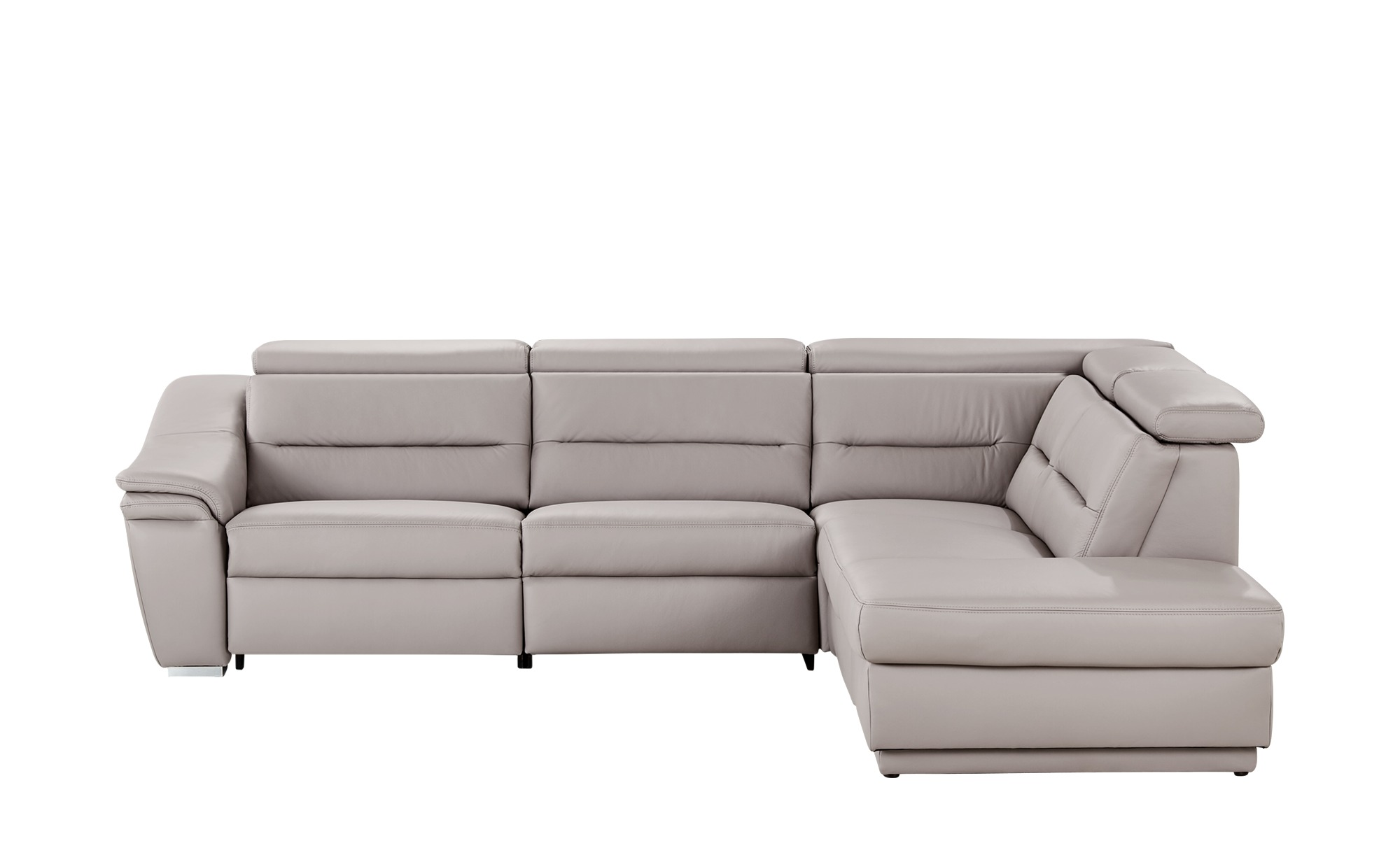 meinsofa ecksofa isabel breite h he 84 cm grau online kaufen bei woonio. Black Bedroom Furniture Sets. Home Design Ideas