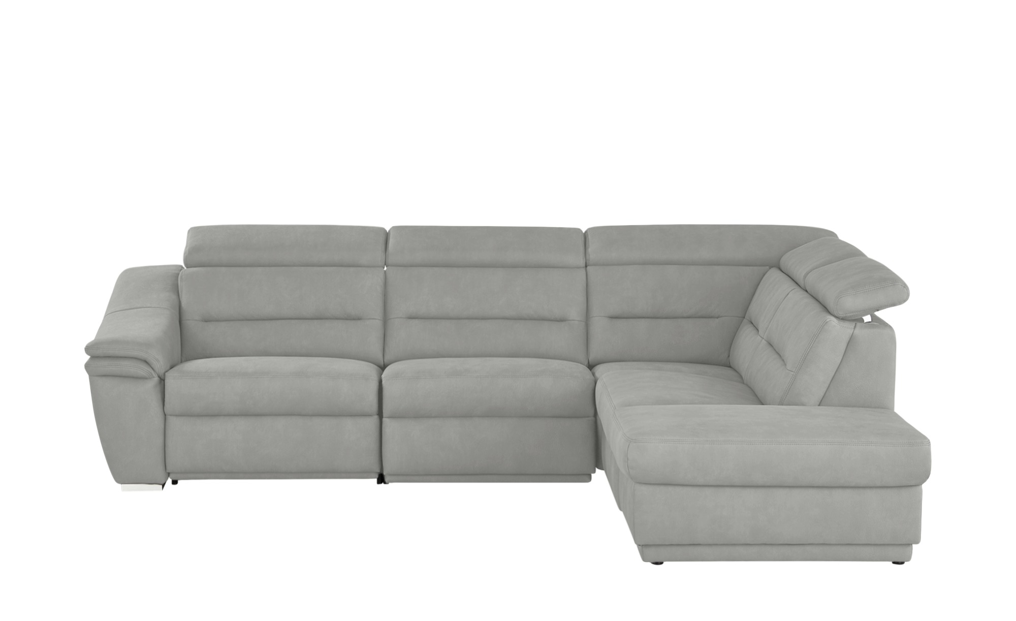 meinsofa ecksofa isabell breite h he 84 cm grau online kaufen bei woonio. Black Bedroom Furniture Sets. Home Design Ideas