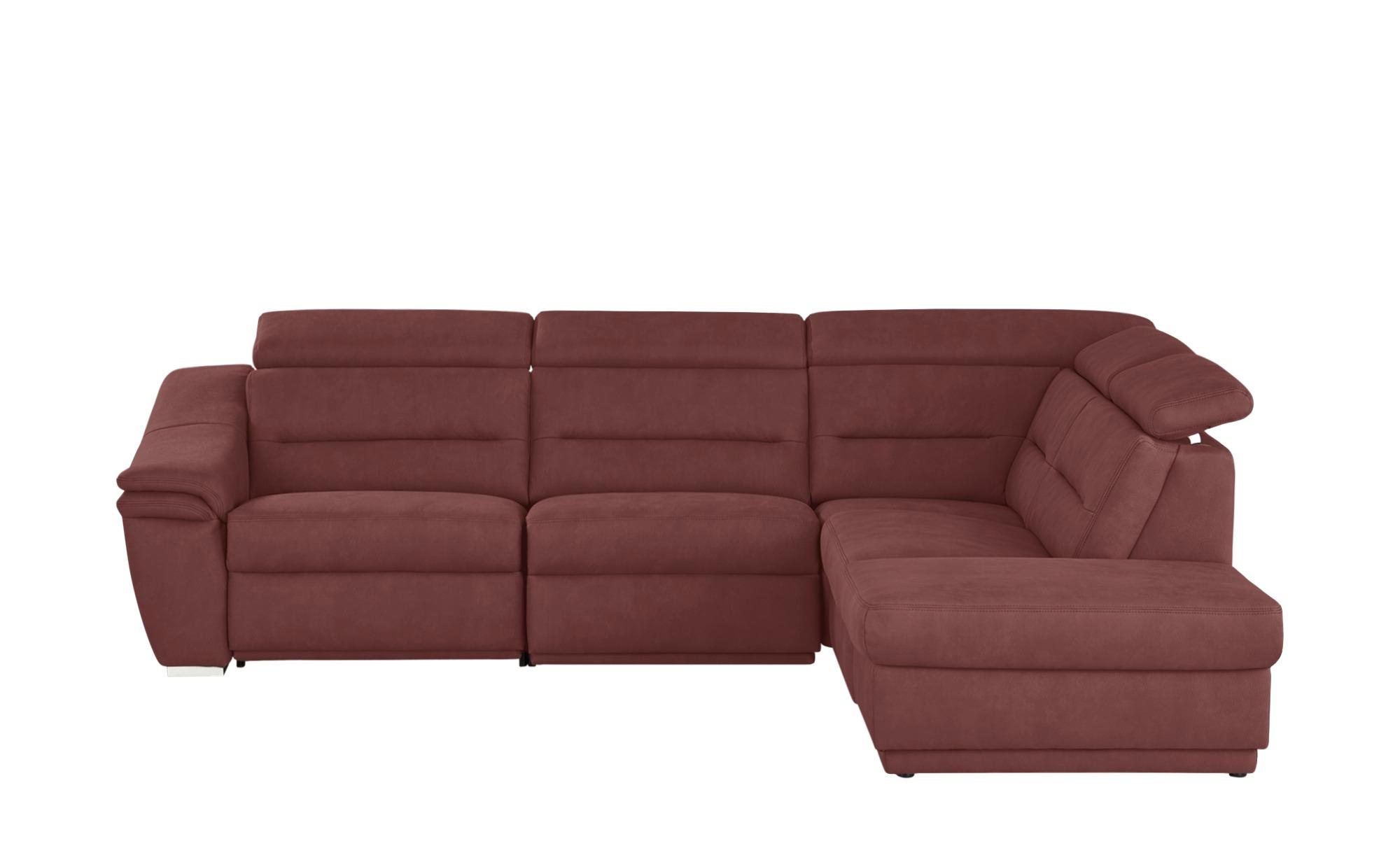 meinsofa ecksofa isabell breite h he 84 cm rot online kaufen bei woonio. Black Bedroom Furniture Sets. Home Design Ideas