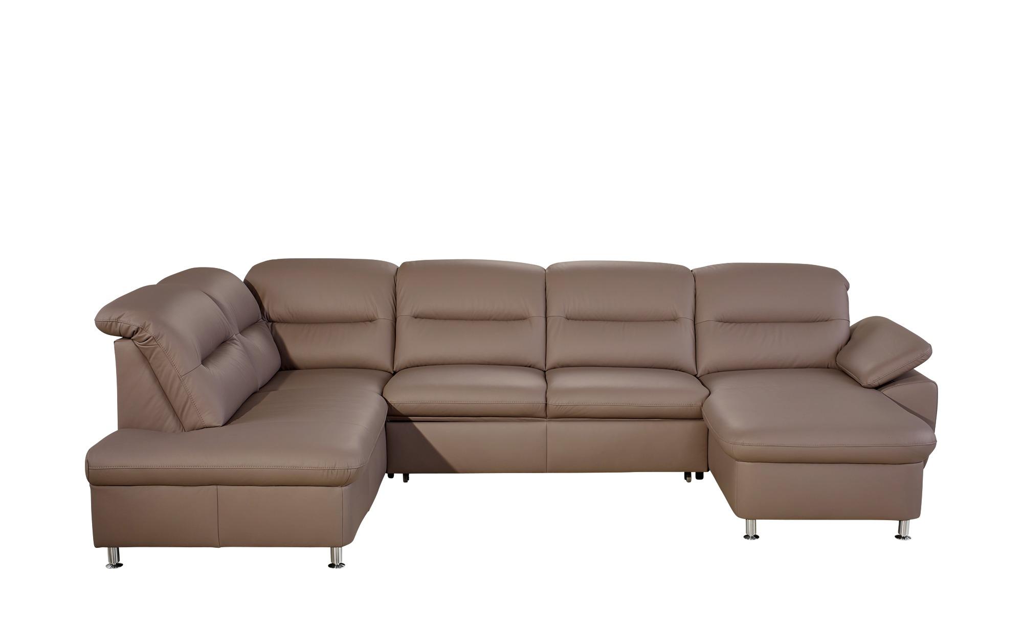 meinsofa komfort wohnlandschaft aus leder maike breite h he braun online kaufen bei woonio. Black Bedroom Furniture Sets. Home Design Ideas