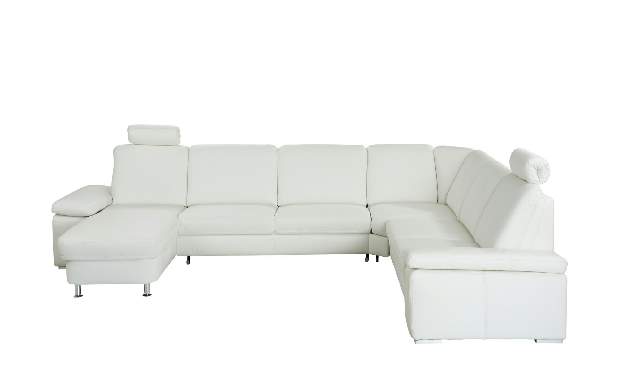 meinsofa leder elementgruppe mit funktion elsa breite h he 91 cm wei online kaufen bei woonio. Black Bedroom Furniture Sets. Home Design Ideas