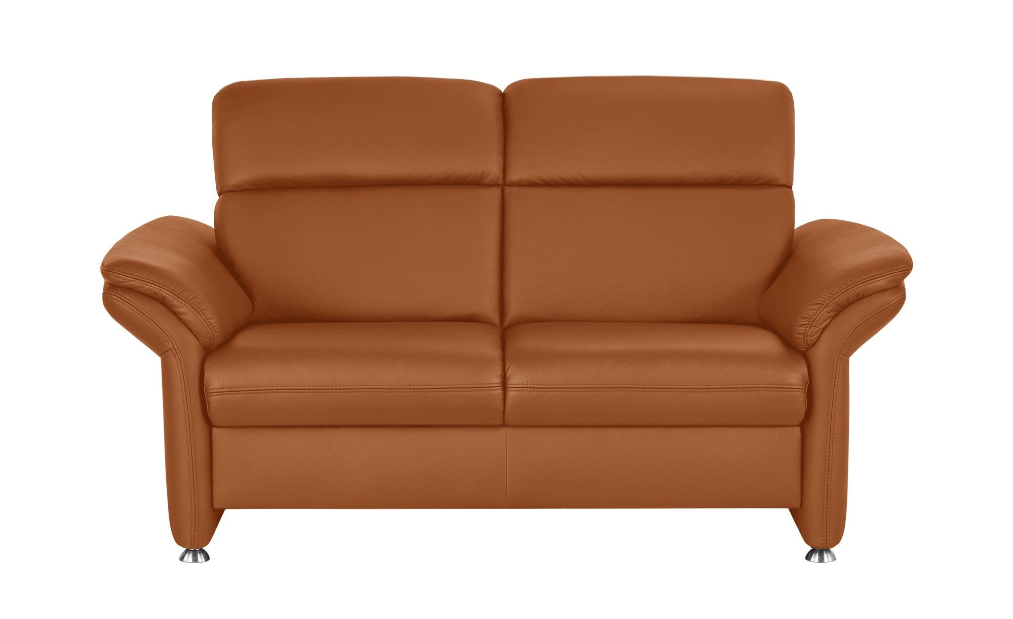 meinsofa ledersofa manon breite 170 cm h he 94 cm orange online kaufen bei woonio. Black Bedroom Furniture Sets. Home Design Ideas