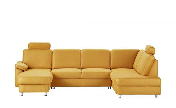 meinSofa Wohnlandschaft  Oliver-S meinSofa Wohnlandschaft  Oliver-S-Wohnlandschaft-meinSofa-gelb Breite: Höhe: gelb