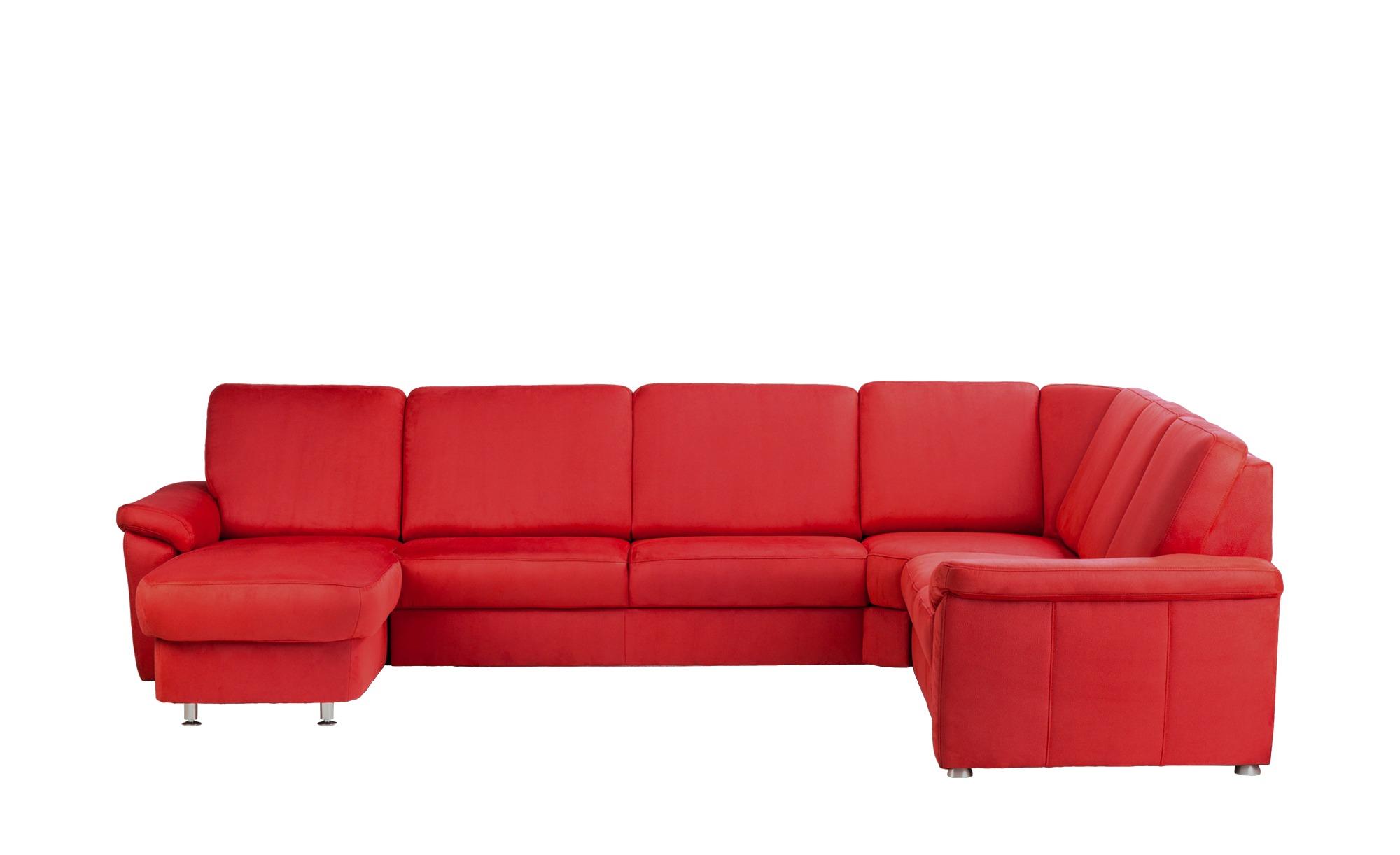 meinsofa wohnlandschaft rita breite h he 91 cm rot online kaufen bei woonio. Black Bedroom Furniture Sets. Home Design Ideas