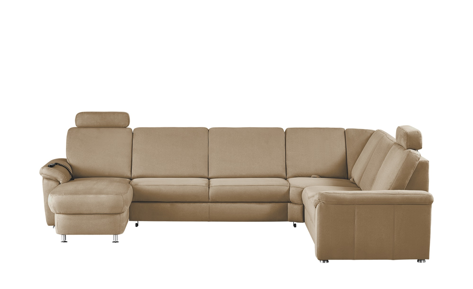 meinsofa wohnlandschaft rita breite h he 91 cm beige. Black Bedroom Furniture Sets. Home Design Ideas