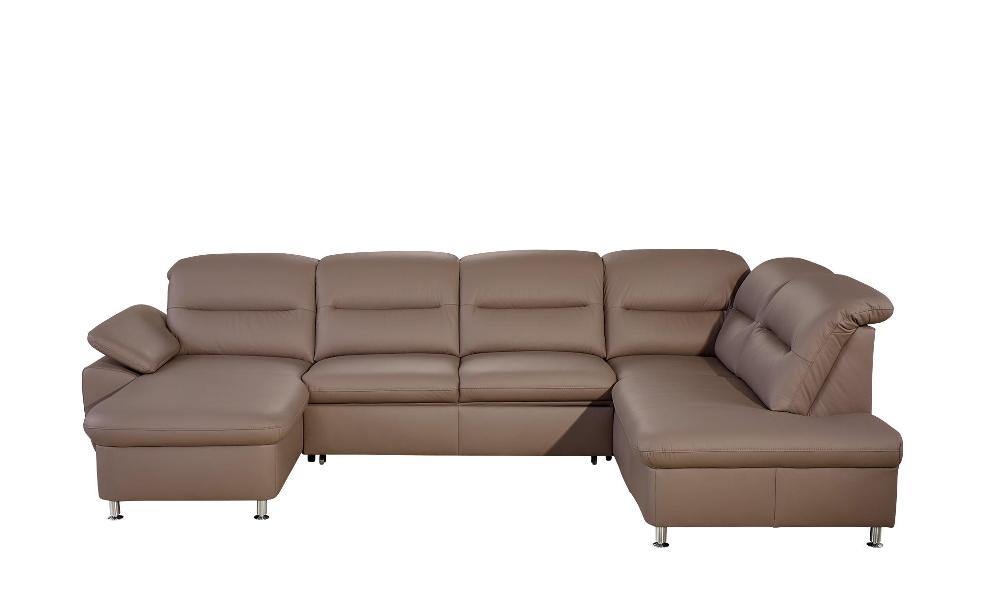 meinsofa wohnlandschaft aus leder maike breite h he braun online kaufen bei woonio. Black Bedroom Furniture Sets. Home Design Ideas