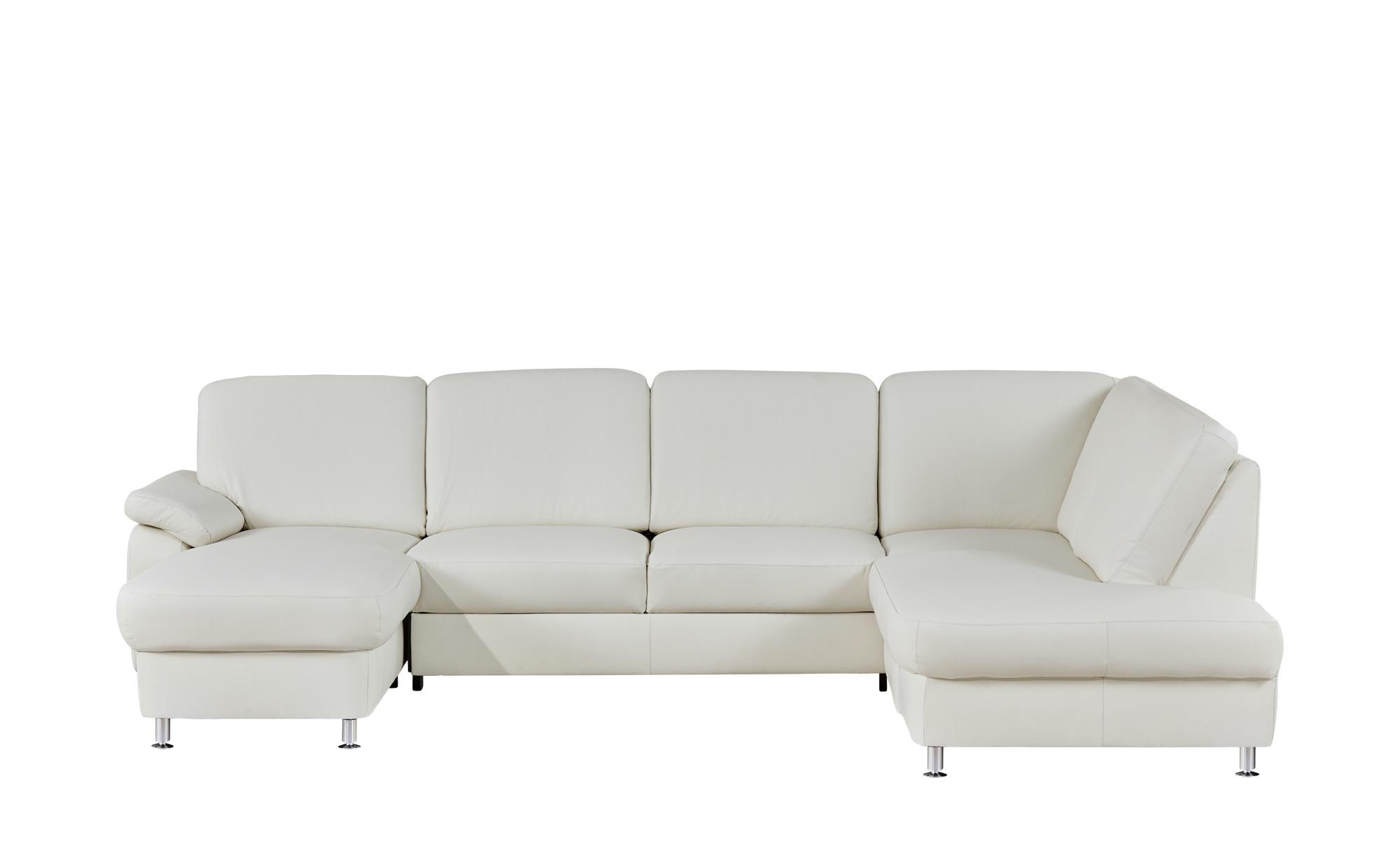 meinsofa wohnlandschaft aus leder moritz breite h he 85 cm wei online kaufen bei woonio. Black Bedroom Furniture Sets. Home Design Ideas