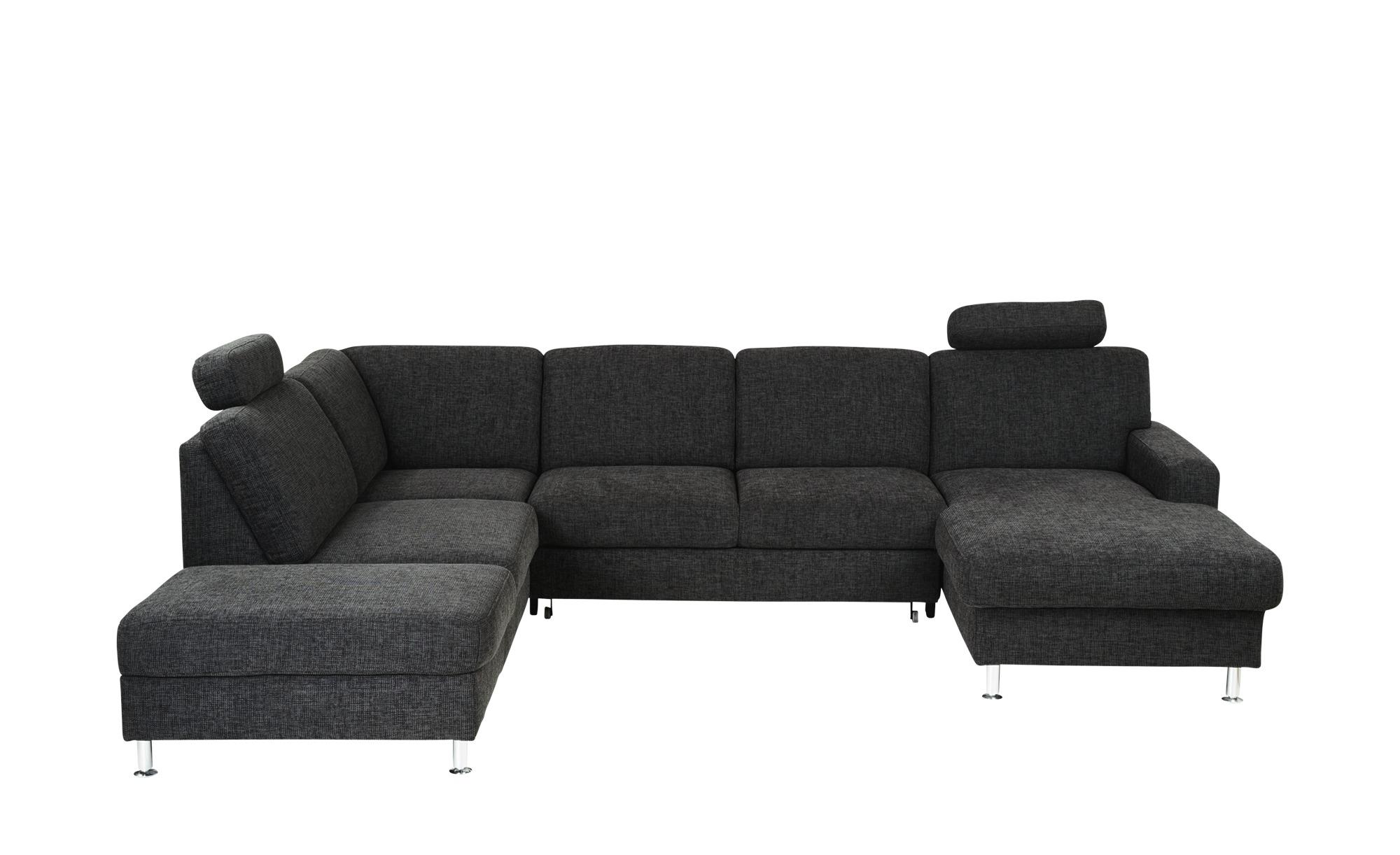 meinsofa wohnlandschaft mit schlaffunktion jana breite h he grau online kaufen bei woonio. Black Bedroom Furniture Sets. Home Design Ideas
