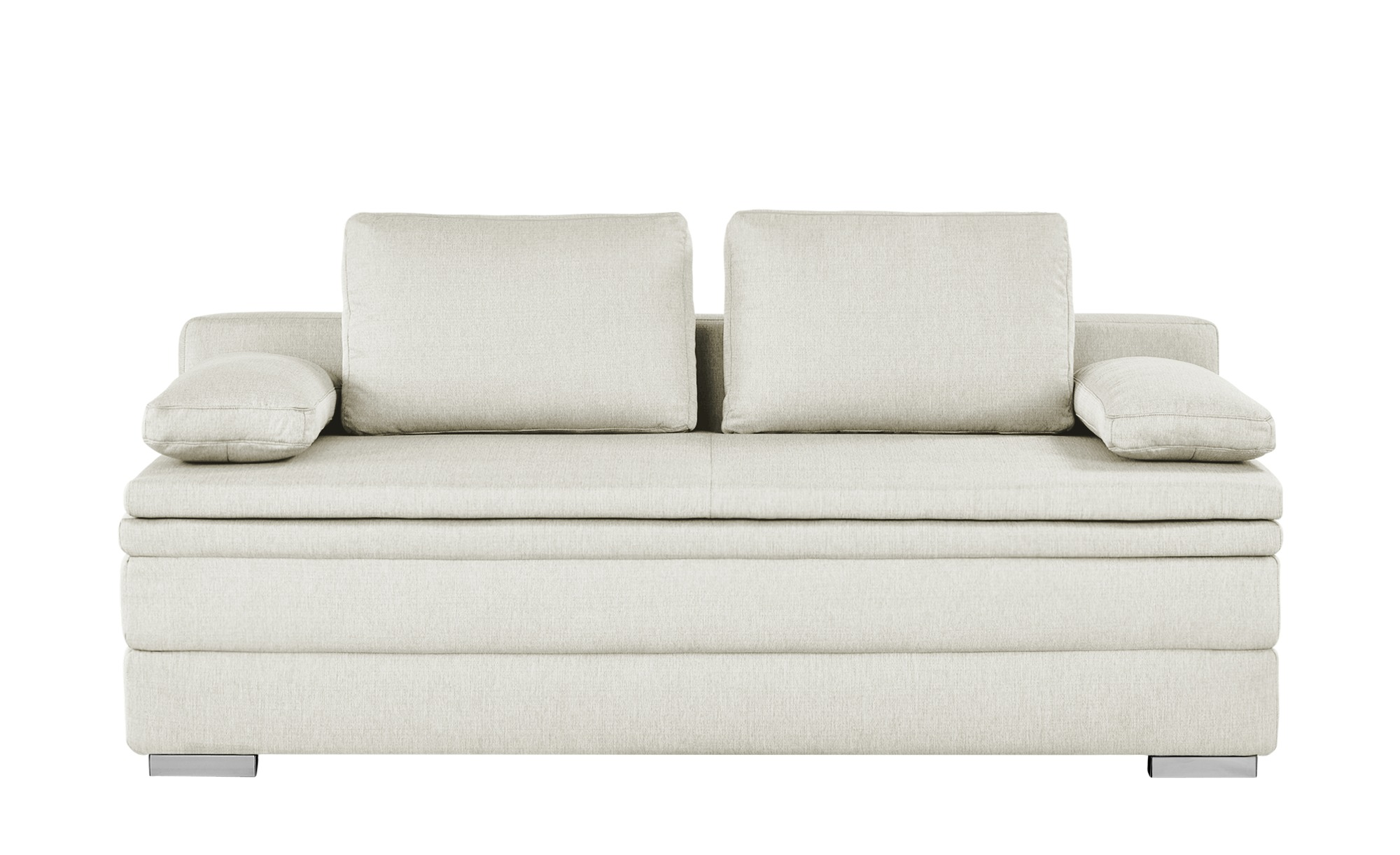 smart boxspring schlafsofa daphne breite 202 cm h he 92 cm beige online kaufen bei woonio. Black Bedroom Furniture Sets. Home Design Ideas