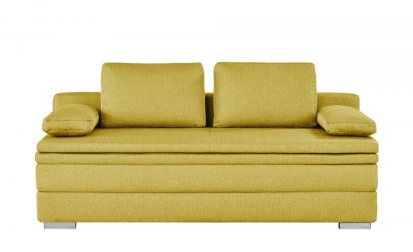 smart Boxspring-Schlafsofa  Daphne smart Boxspring-Schlafsofa  Daphne-Boxspring-Schlafsofa-smart-gelb Breite: 202 cm Höhe: 92 cm gelb