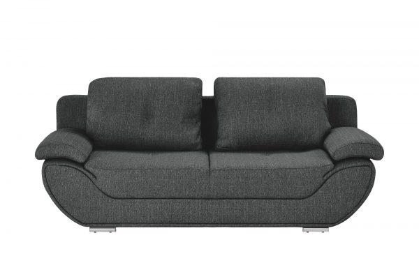 smart Design-Schlafsofa  Adina smart Design-Schlafsofa  Adina-Design-Schlafsofa-smart-grau Breite: 204 cm Höhe: 90 cm grau