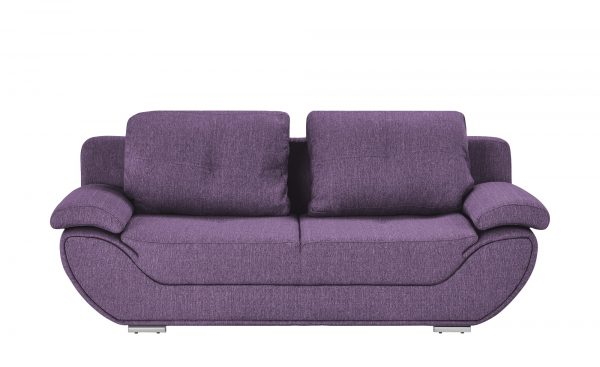 smart Design-Schlafsofa  Adina smart Design-Schlafsofa  Adina-Design-Schlafsofa-smart-lila/violett Breite: 204 cm Höhe: 90 cm lila/violett