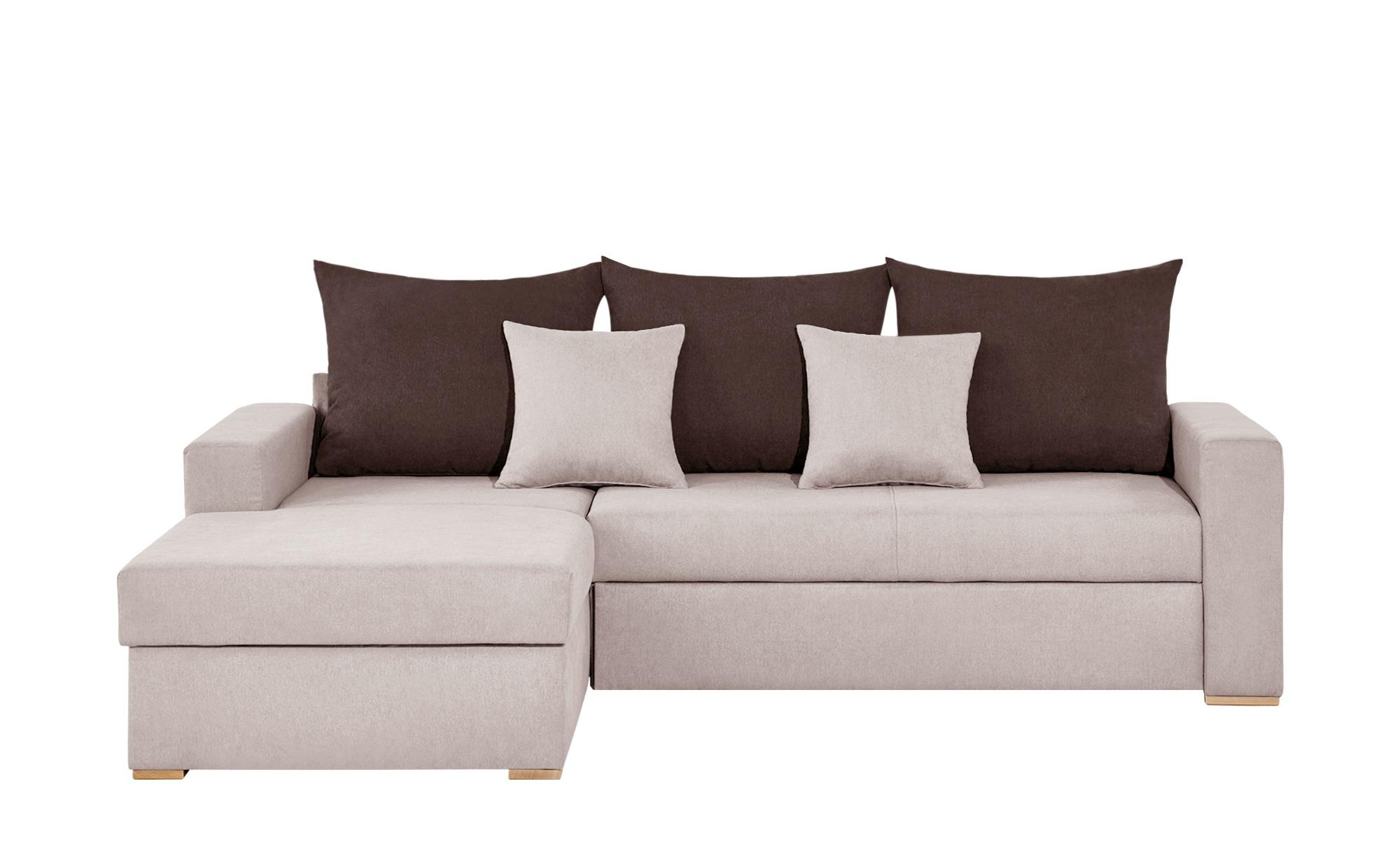 Smart ecksofa anna breite h he 65 cm braun online kaufen for Ecksofa anna