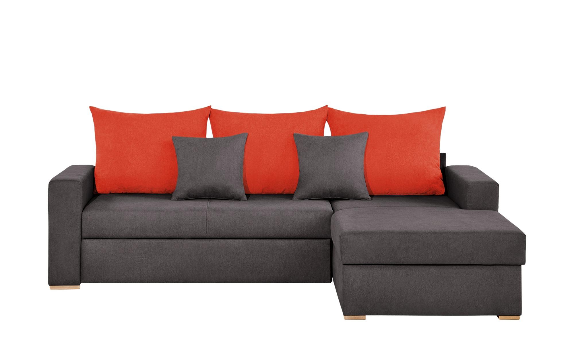 Smart ecksofa anna breite h he 65 cm orange online for Ecksofa kinderzimmer