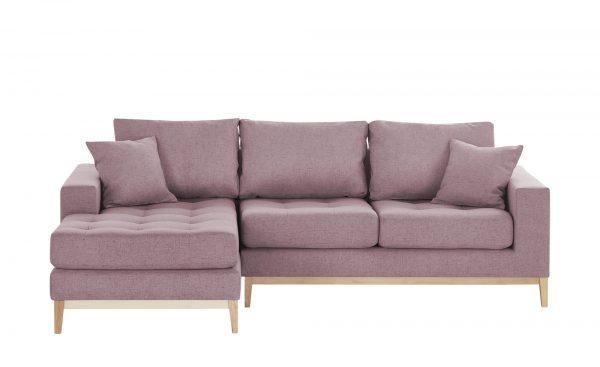 Smart ecksofa vivien breite h he 90 cm rosa pink online for Ecksofa zeus
