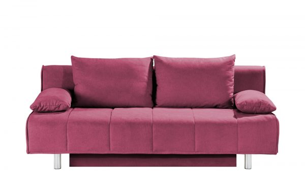 smart Schlafsofa  Alina smart Schlafsofa  Alina-Schlafsofa-smart-rosa/pink Breite: 200 cm Höhe: 90 cm rosa/pink