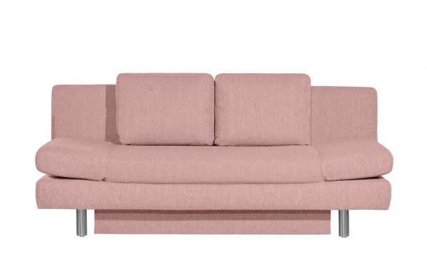 smart Schlafsofa  Nina smart Schlafsofa  Nina-Schlafsofa-smart-rosa/pink Breite: 205 cm Höhe: 90 cm rosa/pink