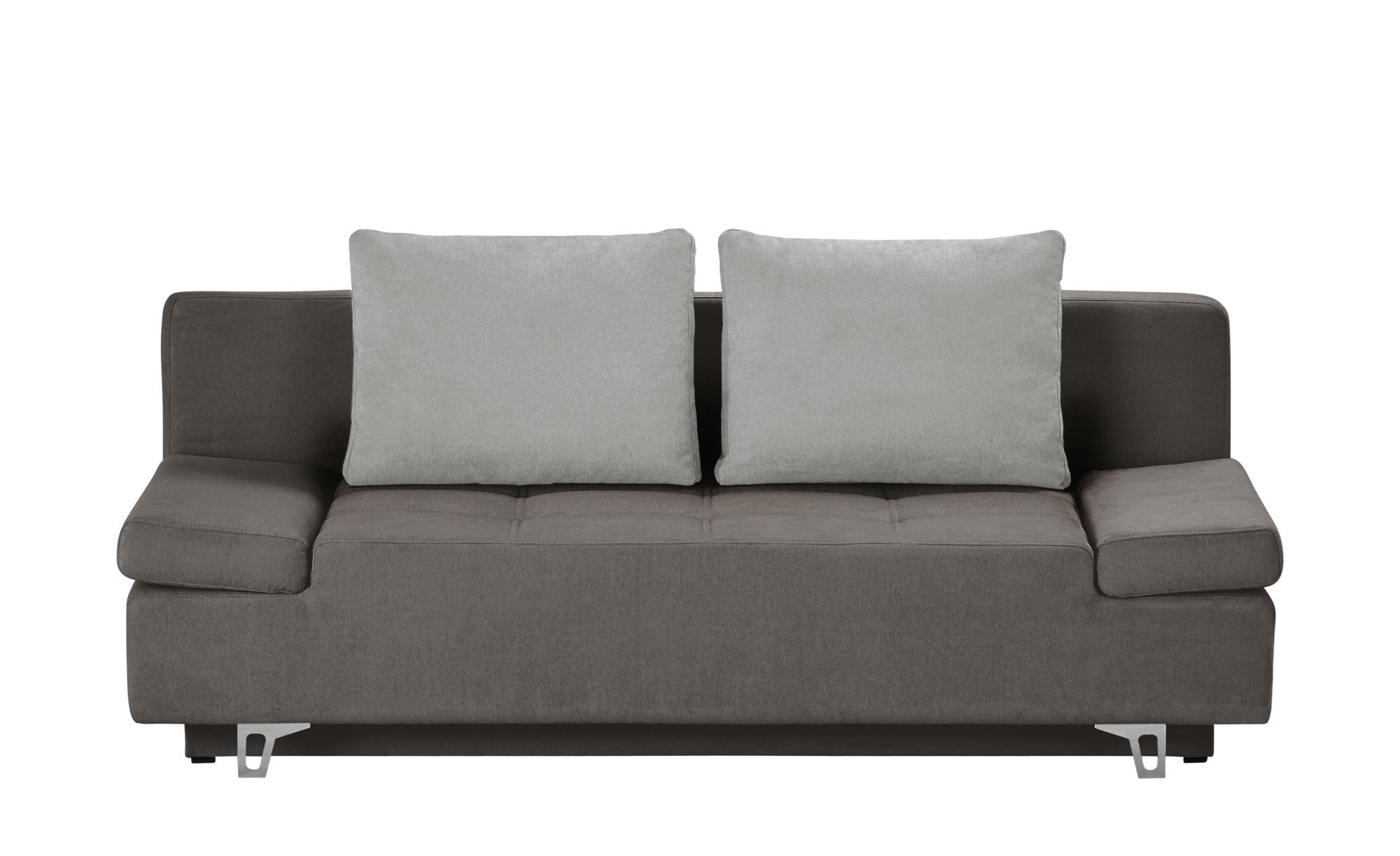 smart schlafsofa patriece breite 200 cm h he 90 cm grau online kaufen bei woonio. Black Bedroom Furniture Sets. Home Design Ideas
