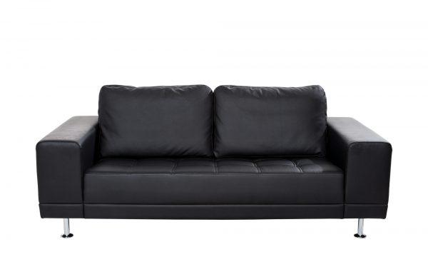 smart Schwarzes Design-Sofa  Garda smart Schwarzes Design-Sofa  Garda-Schwarzes Design-Sofa-smart-schwarz Breite: 200 cm Höhe: 85 cm schwarz