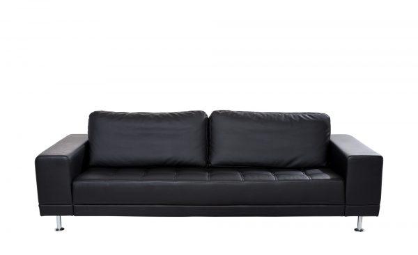 smart Schwarzes Design-Sofa   Garda smart Schwarzes Design-Sofa   Garda-Schwarzes Design-Sofa-smart-schwarz Breite: 250 cm Höhe: 85 cm schwarz