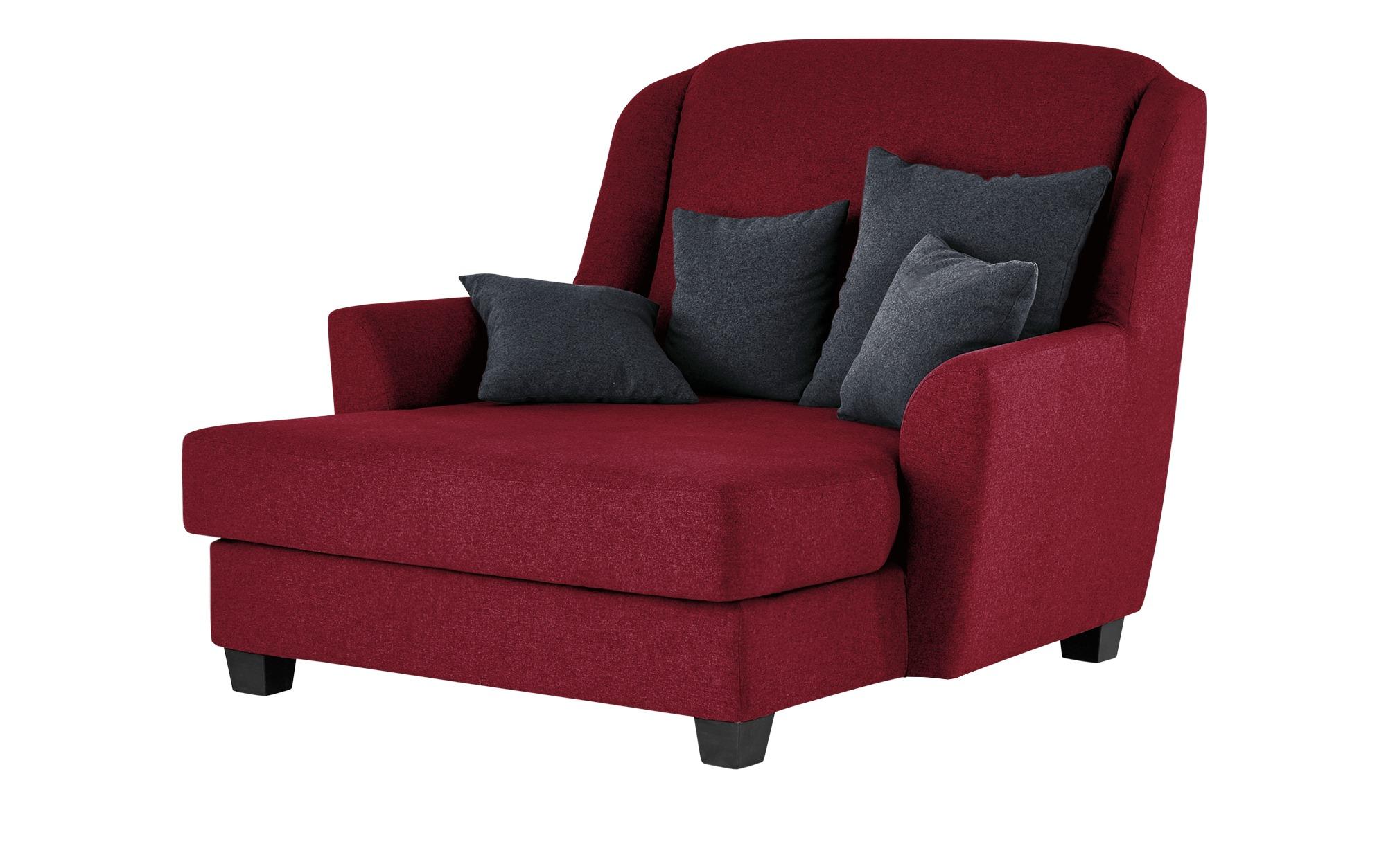 smart Sessel Lisbeth Breite 135 cm Höhe 100 cm rot online kaufen bei WOONIO
