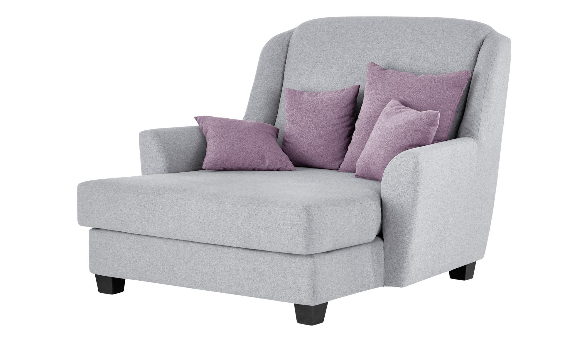 smart Sessel Lisbeth Breite 135 cm Höhe 100 cm grau online kaufen bei WOONIO
