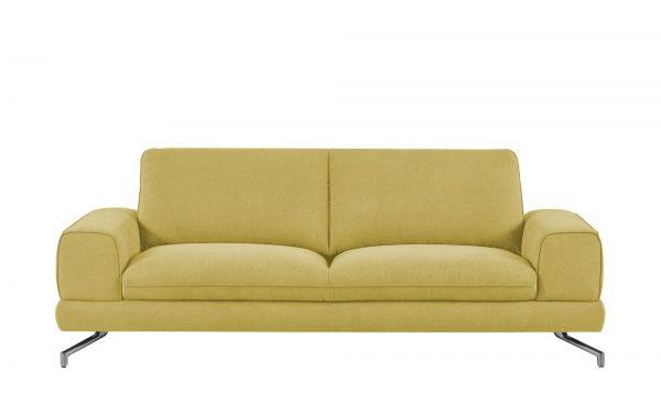 smart Sofa  Bonika smart Sofa  Bonika-Sofa-smart-gelb Breite: 218 cm Höhe: 83 cm gelb