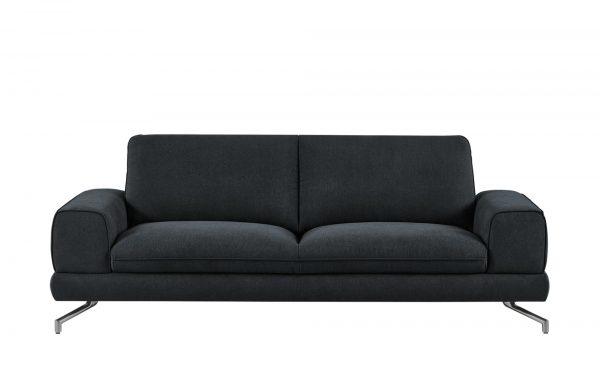 smart Sofa  Bonika smart Sofa  Bonika-Sofa-smart-schwarz Breite: 218 cm Höhe: 83 cm schwarz