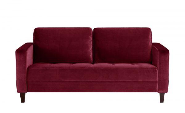 smart Sofa  Geradine smart Sofa  Geradine-Sofa-smart-rot Breite: 177 cm Höhe: 93 cm rot