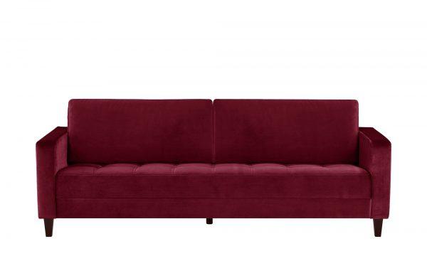 smart Sofa  Geradine smart Sofa  Geradine-Sofa-smart-rot Breite: 226 cm Höhe: 93 cm rot