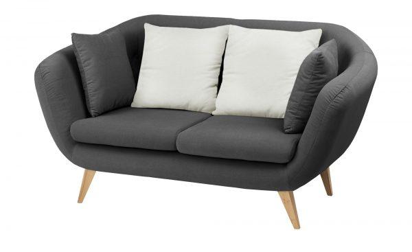 smart Sofa   Ricarda smart Sofa   Ricarda-Sofa-smart-grau-Materialmix Breite: 176 cm Höhe: 93 cm grau
