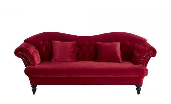 smart Sofa  Sissi smart Sofa  Sissi-Sofa-smart-rot Breite: 236 cm Höhe: 93 cm rot